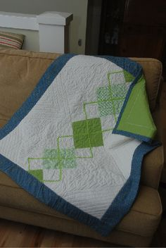 Baby quilt, so cute!