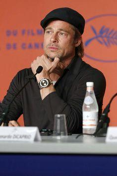 Brad Pitt Style, My High School, Older Men, Leonardo Dicaprio, Perfect Man, In Hollywood, Film Festival, Movie Stars, Shawnee