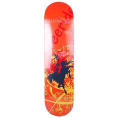 Pro Skateboard Black Horses Deck 32X8