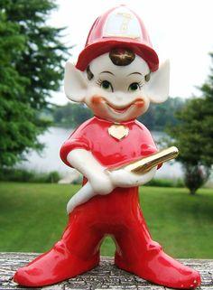 Check out Elf Pixie Fireman Number Seven Figurine Red Gold Trim  Wales Japan Vintage  http://www.ebay.com/itm/Elf-Pixie-Fireman-Number-Seven-Figurine-Red-Gold-Trim-Wales-Japan-Vintage-/161852070922?roken=cUgayN&soutkn=3VbsVe via @eBay