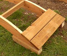 Posts about wooden garden bridge plans written by Backyard Projects, Outdoor Projects, Garden Projects, Pond Bridge, Garden Bridge, Pallet Bridge, Wood Projects That Sell, Wooden Garden, Wooden Bridge Garden