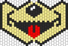 Mouse Mouth Kandi Mask Kandi Mask Patterns, Pony Bead Patterns, Beading Patterns Free, Peyote Patterns, Peyote Beading, Beadwork, Kandi Cuff, Jean Crafts, Book Marks