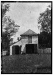 19.  Historic American Buildings Survey Lester Jones, Photographer Copy of photo taken prior to 1899. PIGEON AND CARRIAGE HOUSE - Homeplace Plantation, River Road, Hahnville, St. Charles Parish, LA