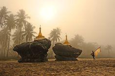 Ngwesaung beach Myanmar