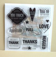 CTMH Stamp Set - Thoughtful Tidings - S1202.
