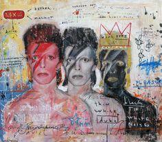 Nick Twaalfhoven Neo-pop Art kunst, moderne kunst, modern art, pop art, dutch artists, dutch art. ziggy stardust