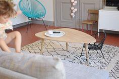 Salon, table basse & tapis berbère - Zess.fr // Lifestyle . mode . déco . maman . DIY