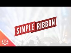 Inkscape Beginner Tutorial: Simple Vector Ribbon with Text - YouTube