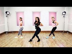 This Sexy Dance Workout Will Make You Feel Like Beyonce | Class FitSugar - YouTube