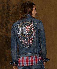 Denim & Supply Ralph Lauren Jacket, Dream Catcher Denim Jacket