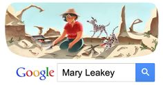 Google's Mary Leakey - Feb 6, 2013   Mary Leakey was born Mary Douglas Nicol on February 6, 1913, in London, England to Erskine Edward Nicol and Cecilia Marion (Frere) Nicol. Since Erskine worked as a painter, specializing in watercolor landscapes, the Nicol family would move from place to place, visiting numerous locations in the USA, Italy, and Egypt, where Erskine painted scenes to be sold in England. Erskine Nicol developed an amateur enthusiasm for Egyptology during his travels. Mary…