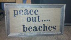 Sign at graduation beach party! Hilarious