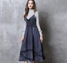 Rochia de blugi este un must-have. Kalimeramark.ro este o stare de bine. Fii deosebita, indrazneste! #rochii #rochiidenim Fii, Jeans, Denim, Dresses, Fashion, Everything, Vestidos, Moda, Fashion Styles