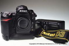 NIKON D3 Body 12.1MP Digital Camera Excellent  #Nikon