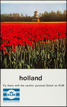 KLM Airlines  (1960s)