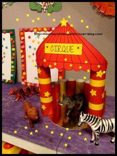 .. Le chapiteau du cirque ..