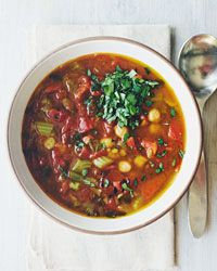 Chickpea and Lentil Soup Recipe on Food & Wine