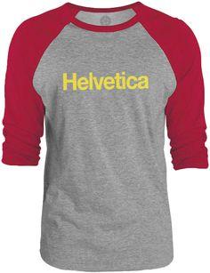 Big Texas Helvetica (Yellow) 3/4-Sleeve Raglan Baseball T-Shirt