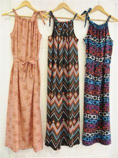 Womens Pillowcase Maxi Dress Sewing Tutorial for Beginners