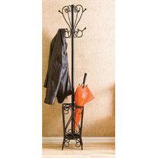 Ashworth Coat Rack with Umbrella Stand