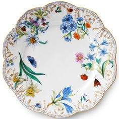Belle Saisons Dinnerware by Alberto Pinto  | Gracious Style