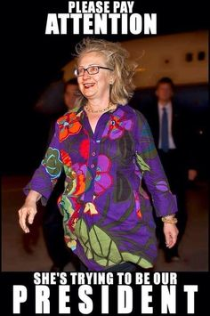 Truly America would be the laughing stock of the world should this become president