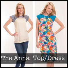 The Anna Top/Dress (wish they sold paper copies instead of just pdf)
