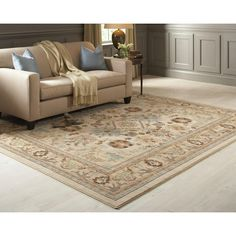 Home Decorators Collection Charisma Butter Pecan 8 Ft X 10 Ft Area Rug