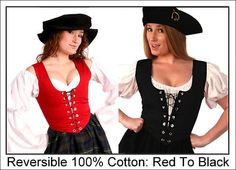 RENAISSANCE MEDIEVAL PIRATE WENCH CIVIL WAR BAR MAID DISNEY COSTUME BODICE #Br1x | eBay