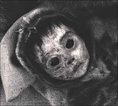 """In 1972, eight remarkably preserved mummies were discovered at an abandoned Inuit settlement called Qilakitsoq, in Greenland. The """"Greenland Mummies"""" consisted of a six-month old baby, a four year old boy, and six women of various ages, who died around 500 years ago. Their bodies were naturally mummified by the sub-zero temperatures and dry winds in the cave in which they were found."""