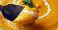 Crema de zanahoria y manzana muy saludable