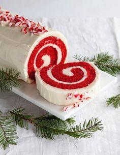 Recipe: Peppermint Red Velvet Cake Roll — Dessert Recipes from The Kitchn