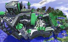 Almor Castle Minecraft World Save