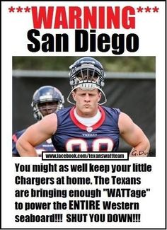 Texans, Houston texans and JJ Watt on Pinterest