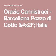 Orazio Cannistraci -  Barcellona Pozzo di Gotto / Italia