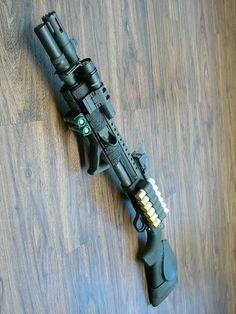 Tactical Shotgun, Tactical Gear, Mossberg 500 Tactical, Weapons Guns, Guns And Ammo, Combat Shotgun, Firearms, Shotguns, Custom Guns