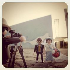 Playmobil wedding shot