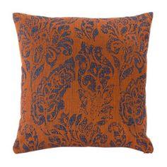"""KOKON Kissenhülle """"Belvedere"""" Kupfer-Türkis Leinen Fall Winter, Autumn, Cushions, Throw Pillows, Blanket, Copper, Linen Fabric, Fall, Cushion"""