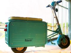Ever heard of Valmobiles' 'Suitcase Scooter'?