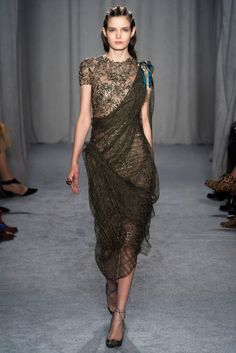 New York Fashion Week February 2014  Marchesa Collection