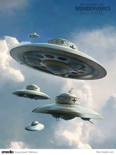 In UFOlogy, conspiracy theory, science fiction, and comic book stories, claims or stories have circulated linking UFOs to Nazi Germany. The German UFO theories describe supposedly successful attemp… Aliens And Ufos, Ancient Aliens, Luftwaffe, Ufo Stories, Terre Plate, Alien Ship, Unidentified Flying Object, Alien Spaceship, Templer