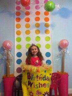 candy backdrop
