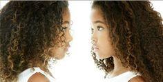 Black Asian Little Girls: Ming Lee & Aoki Lee Simmons