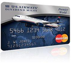 US Airways | Dividend Miles |  MasterCard