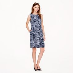 J. Crew heart print dress A few pulls but other then that great condition. No trades. J. Crew Dresses