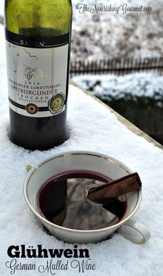 This lovely mulled wine recipe is super easy to make, and will warm you down to your toes. Perfect for a cold winter night. -- The Nourishing Gourmet