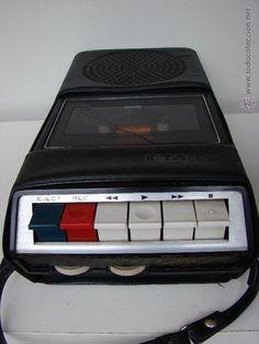 Radios antiguas: ANTIGUO CASSETTE SONY. VINTAGE ORIGINAL AÑOS 60 - Foto 3 - 53709977