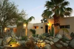 Gorgeous! This warm and inviting Palm Springs home is imaginative and masterful in its 3,350 square feet of custom living space. Seated at the base of Mt. San Jacinto, this upscale Palm Springs home f...