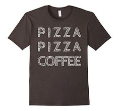 Men's Caffeine and Junk Food T shirt Graphic All Sizes to XXXl 3XL Asphalt