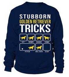 Golden Retriever Stubborn Tricks TSHIRT